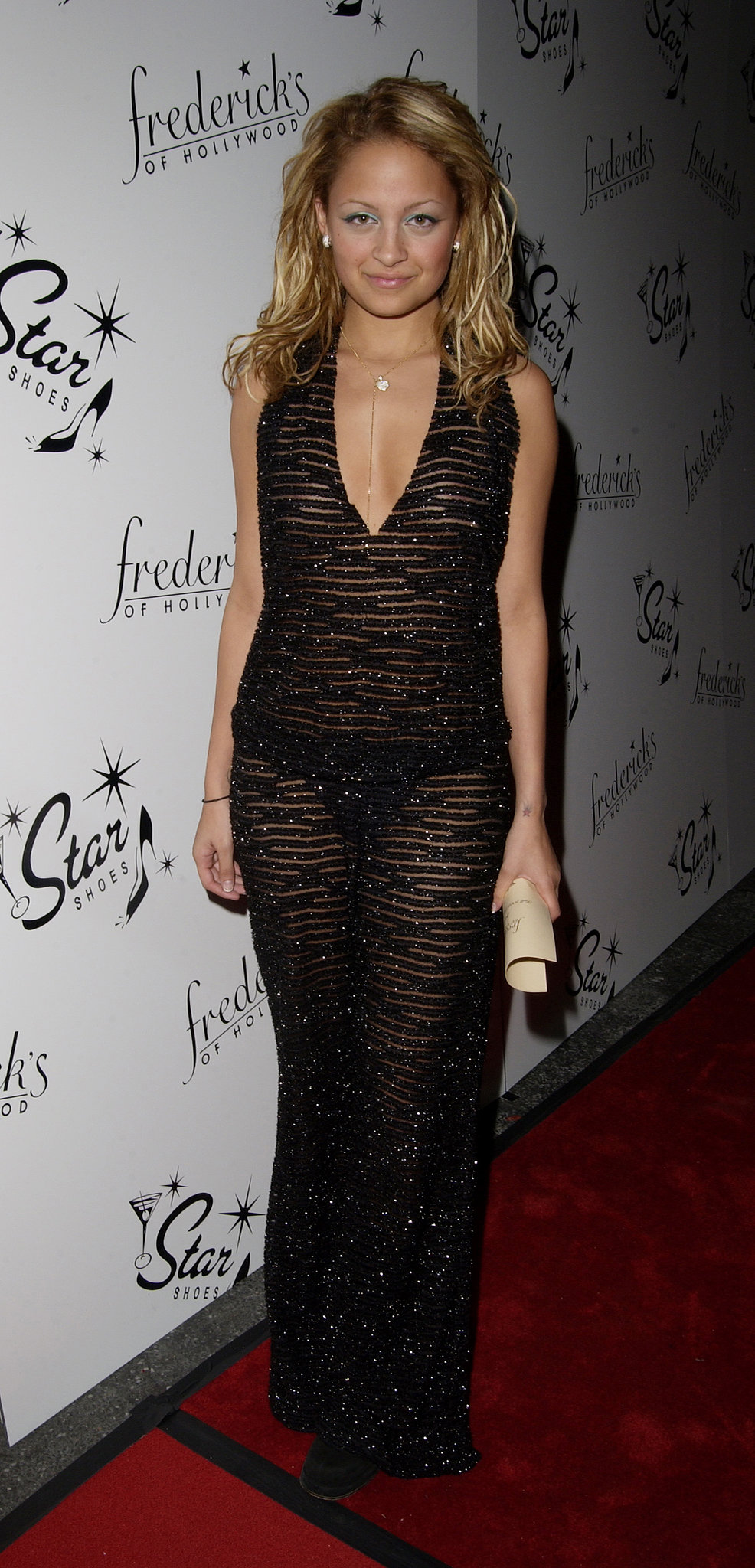 Whoa, girl! Nicole Richie bared (almost) all in a sheer tiger-print dress that didn't leave much to the imagination. It was actually pretty appropriate for the occasion — a F