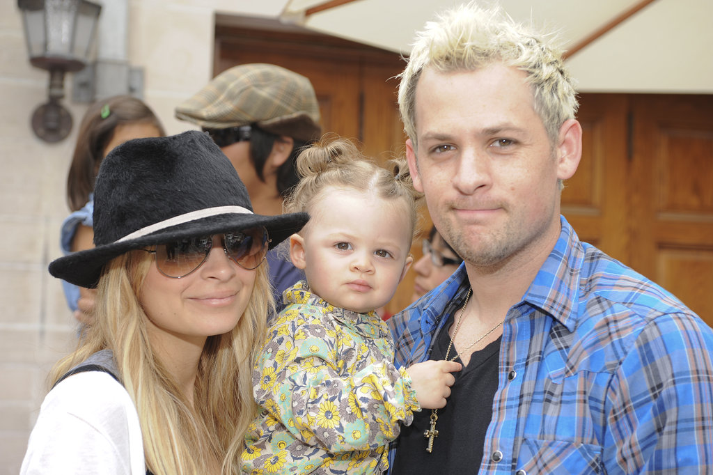 Look at little Harlow! Nicole Richie and Joel Madden brought their baby girl to the Kidstock Music and Art Festival in LA in May 2009.