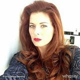 Debra Messing took a sultry selfie for her fans. Source: Debra Messing on WhoSay
