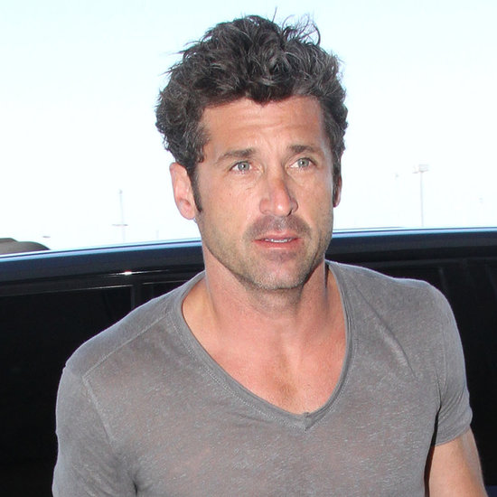 Patrick Dempsey at the Airport: www.popsugar.com/Patrick-Dempsey