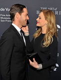 Kate Bosworth and husband, Michael Polish, showed sweet PDA at the Wednesday night event for a Bulgari exhibition in San Francisco.