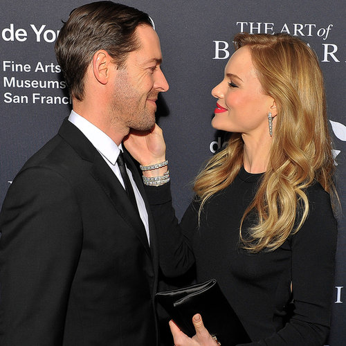 Kate Bosworth and Michael Polish at the SF Bulgari Opening
