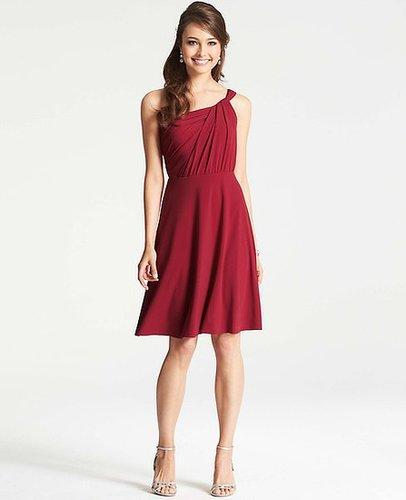 Jersey One Shoulder Bridesmaid Dress