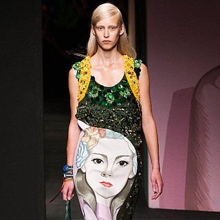 Prada Spring 2014 Runway Show | Milan Fashion Week