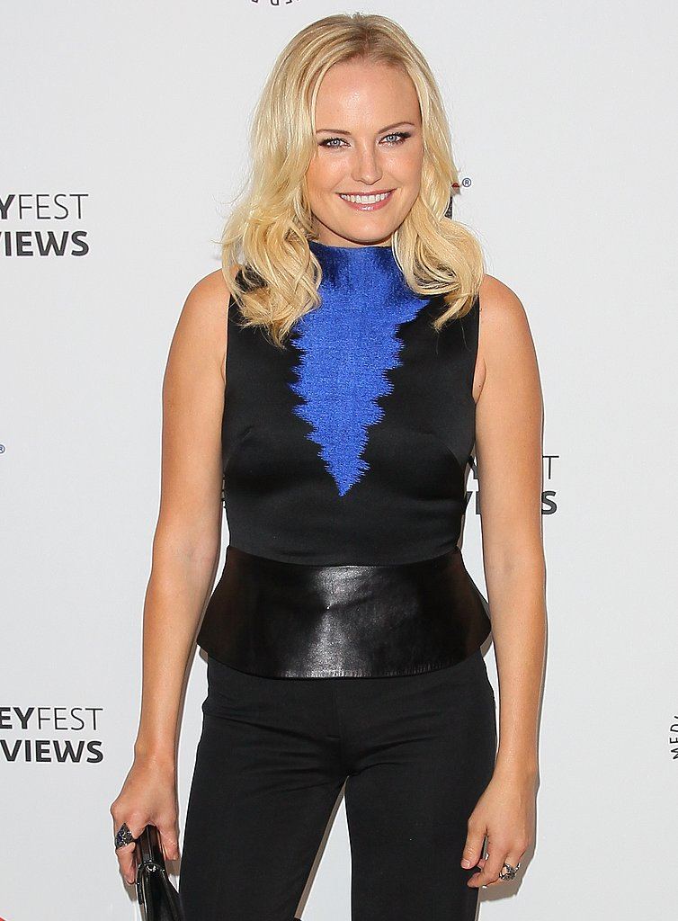 The star of ABC's new show Trophy Wife, Malin Akerman, will present.