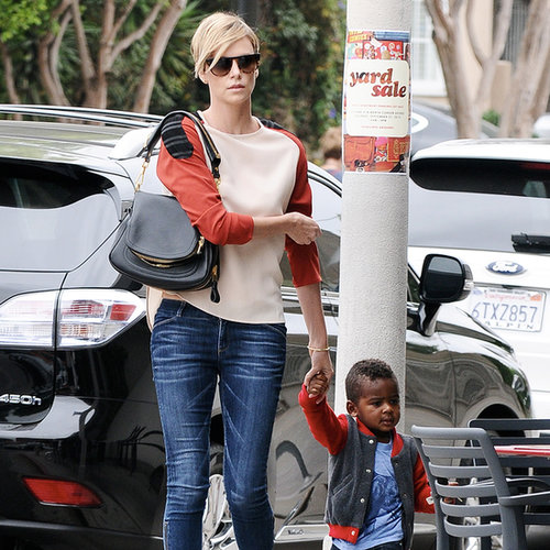 Charlize Theron and Jackson Going to Lunch in LA