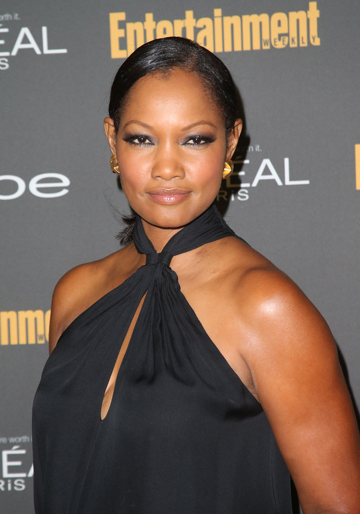 We loved Garcelle Beauvais's heavy eyeliner and side-slicked hairstyle at Entertainment Weekly's pre-Emmys party.