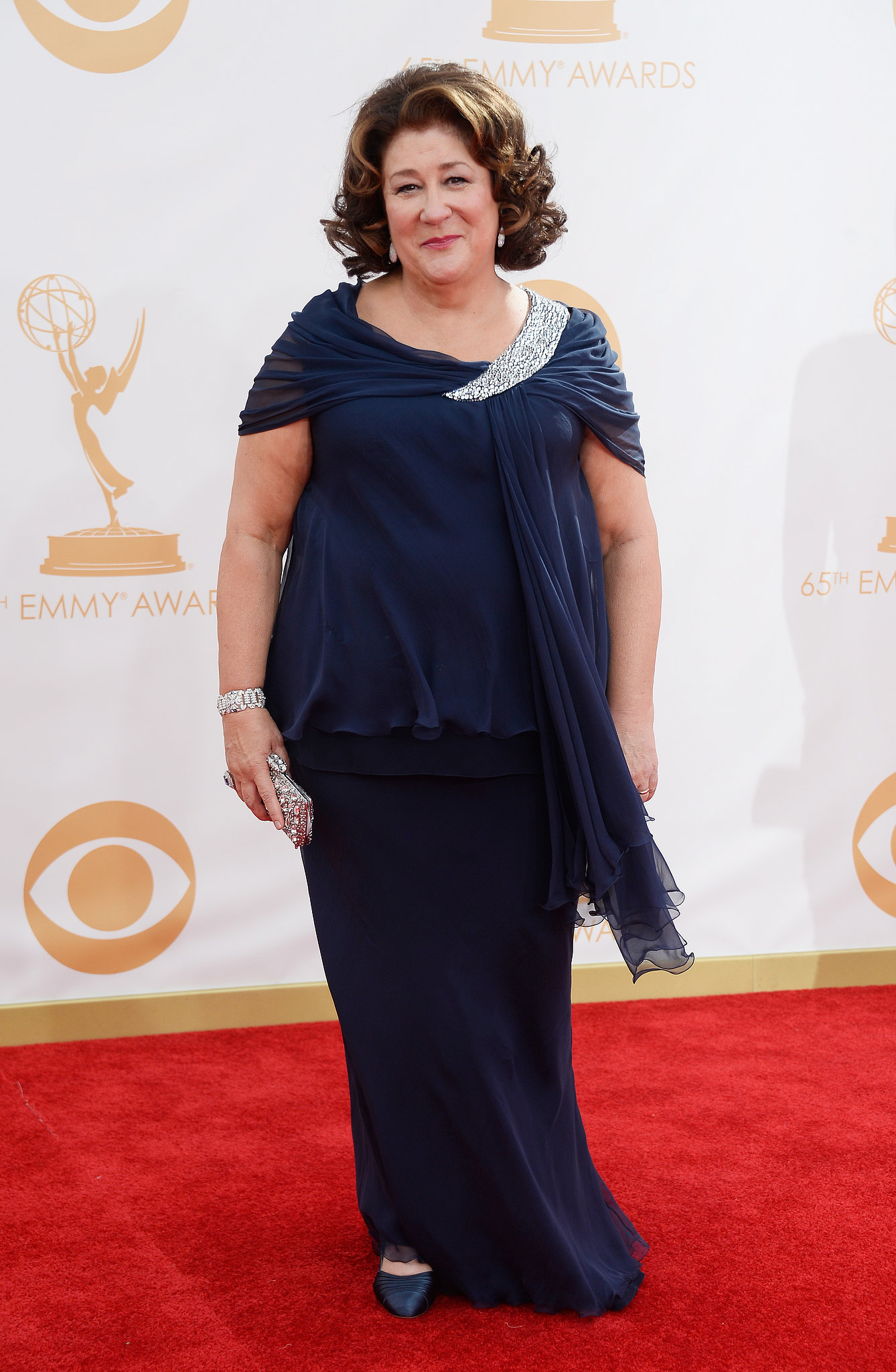 Margo Martindale attended the 2013 Emmy Awards.