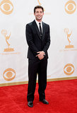 Mad Men's James Wolk looked handsome at the Emmys.