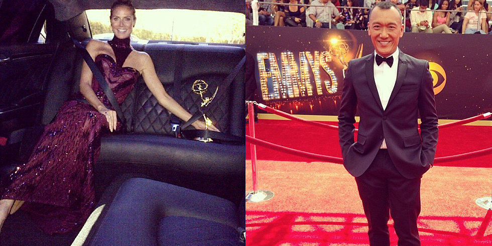 Lights, Camera, Style: The Emmy Awards' Best Instagrams