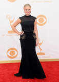 Amy Poehler's embellished pocket Basler dress was a fancy cousin of the LBD.