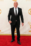 Dean Norris smiled big before heading into the Emmys.