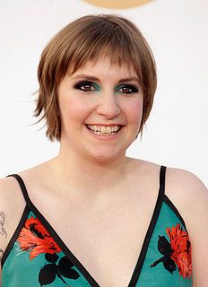 Lena Dunham Hair and Makeup at Emmys 2013 | Pictures