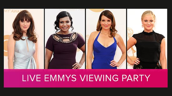 Watch Our Emmys Viewing Party