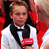 Mason Vale Cotton at Emmy Awards 2013 | Video