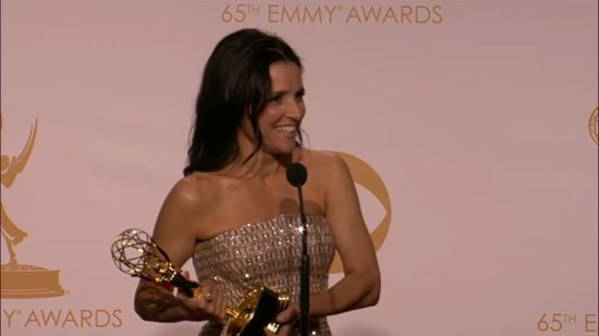 "Julia Louis-Dreyfus in Emmys Press Room: ""It Is Delicious to Win!"""