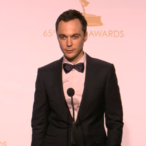 Jim Parsons Emmy Awards Press Room | Video