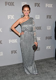 Emily Deschanel attended the Fox Emmys afterparty.