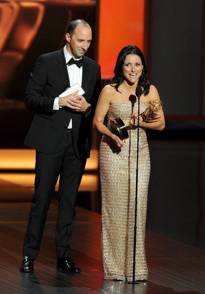 Julia Louis-Dreyfus Wins Like Selina Meyer
