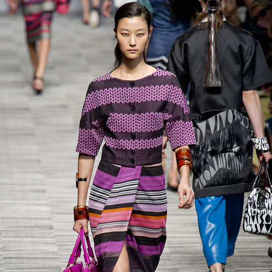 Missoni Spring 2014: A Colorful Pastiche
