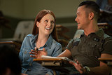 Julianne Moore and Joseph Gordon-Levitt in Don Jon. Source: Relativity Media