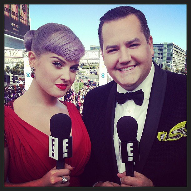 Kelly Osbourne showed off her finished beauty look on the carpet. Source: Instagram user kellyosbourne