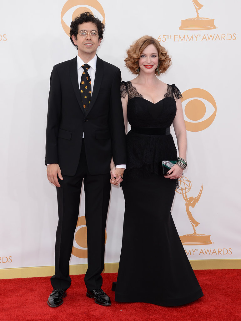 Geoffrey Arend and Christina Hendricks