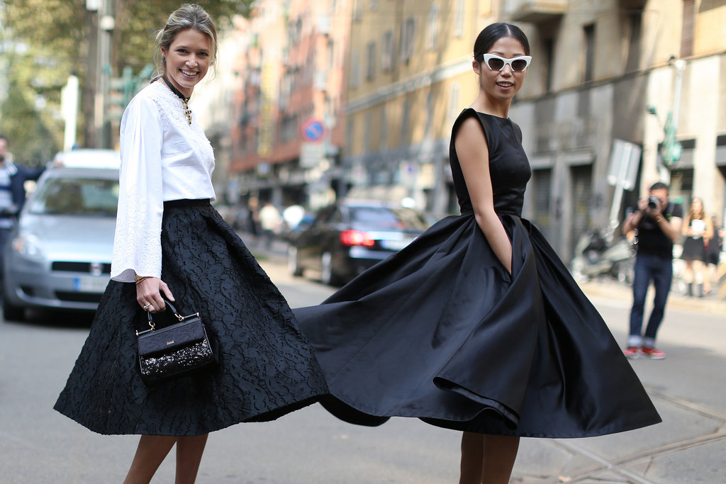 These skirts were made for twirling.