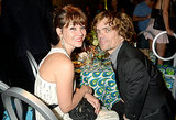 Peter Dinklage sat with Erica Schmidt at the 2013 HBO Emmys afterparty.