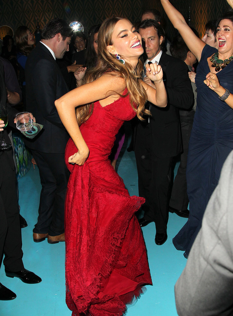 Sofia Vergara tore up the dance floor at HBO's Emmys afterparty.