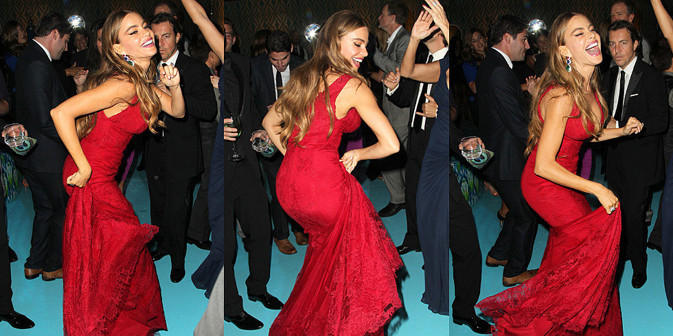 Sofia Vergara Dances Away Her Emmys Loss at the HBO Afterparty