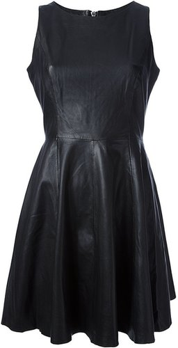 Muubaa leather dress