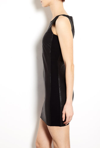 Lena Sleeveless Leather Dress by J Brand