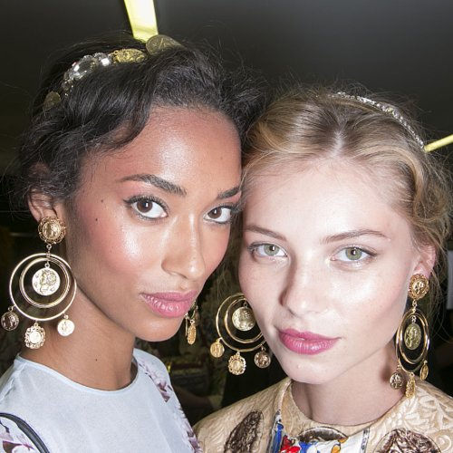 Dolce and Gabbana Spring 2014 Hair and Makeup | Pictures
