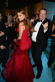 Sofia Vergara danced with Eric Stonestreet at the HBO afterparty.