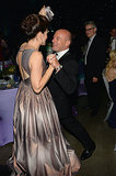 Dean Norris and Betsy Brandt showed off their dance moves at the Governors Ball.