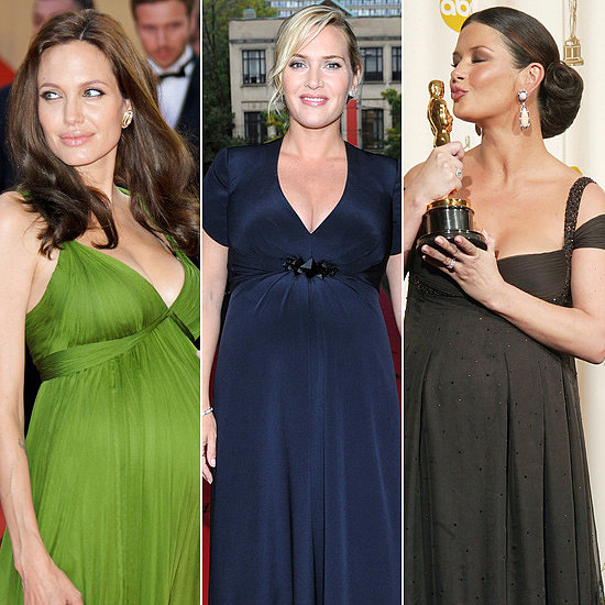 Pregnant Celebrities' 110 Best Maternity Looks