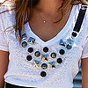 DIY Bib Necklace Tee | Video