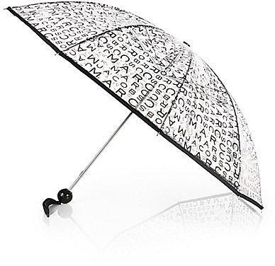 Marc by Marc Jacobs Jumbled Logo Umbrella