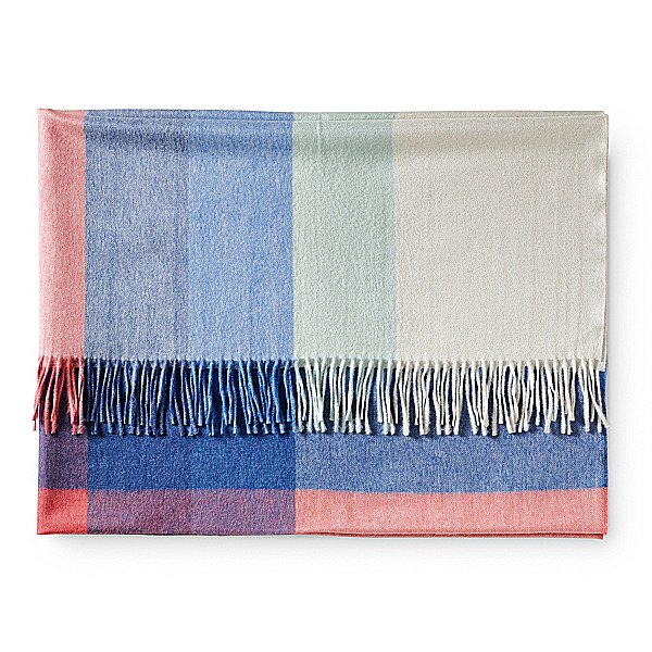 Made from alpaca fleece, this super soft throw ($128) is going to be the thing that everyone is fighting over while on the couch.