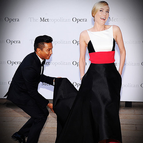 Diane Kruger in Prabal Gurung Dress at Opera | Video