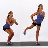 Lower Body: Narrow Squat With Back Kick