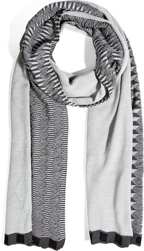 Missoni Wool Blend Patterned Scarf