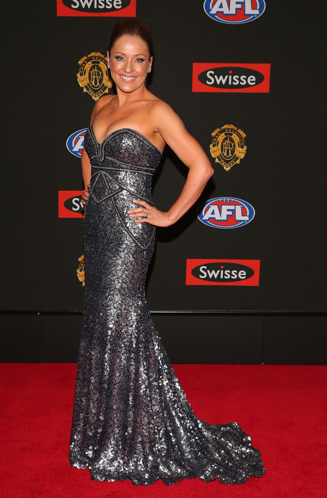 Lyndall Degenhardt the wife of Sam Mitchell of the Hawks.