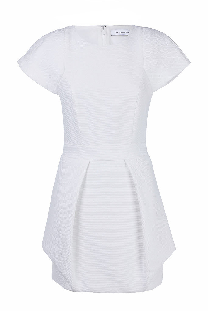 I plan on making the hat the centre-piece and therefore want something relatively plain to accompany it so as not to distract the eye. I'm heading to Melbourne for Derby Day so this white Camilla and Marc dress is perfect (plus on sale too!). — Laura, Shopstyle Australia country manager Dress, $295, Camilla and Marc