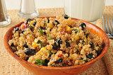 Quinoa, Black Bean, and Corn Salad
