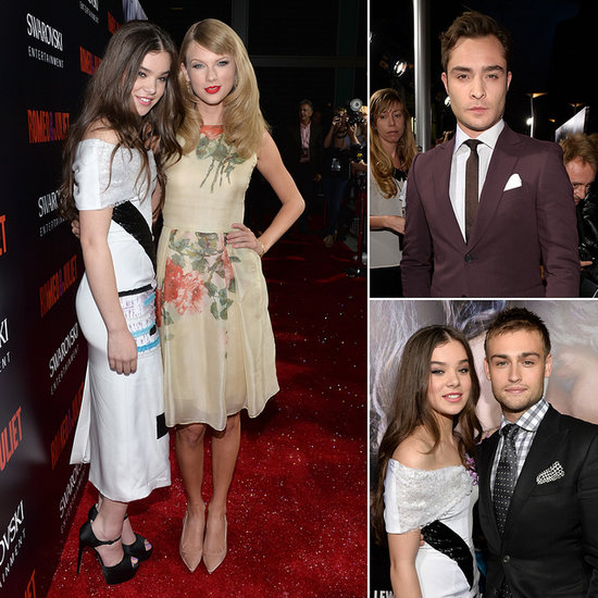 Taylor Swift Makes a Romantic Appearance at Hailee's Romeo and Juliet Premiere
