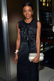 Genevieve Jones joined Hugo Boss in Columbus Circle for the label's flagship opening.