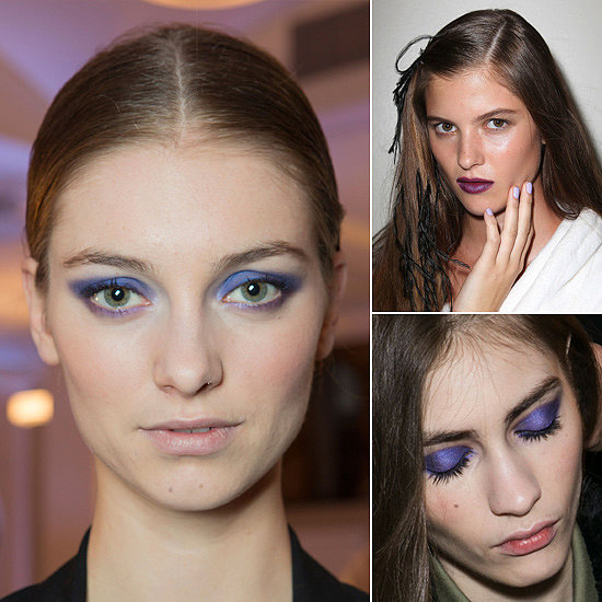 Perfect Purples For Autumn's Bold Beauty Look