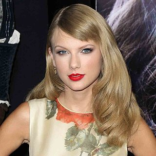Taylor Swift Side-Swept Fringe